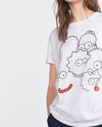 $299 Imagen 4 de CAMISETA SIMPSONS de Zara