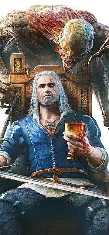 Witcher Geralt -- Blood and Wine