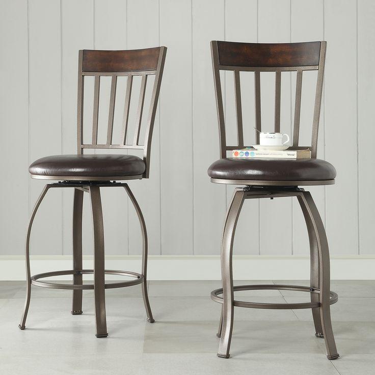 Wooden Revolving Stool Light Brown Swivel Bar Pub Chair: Best 25+ Counter Height Stools Ideas On Pinterest