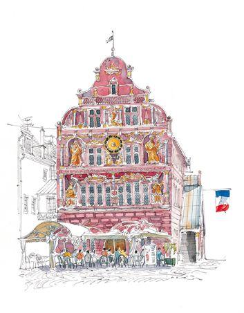 Fabrice Moireau. Mulhouse (Alsace) Ancien Hôtel de Ville.