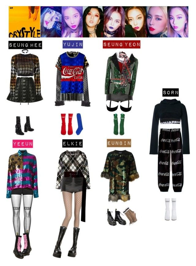 Clc Hobgoblin💚💙💛💜 Kpop Outfits Kpop Fashion Korea