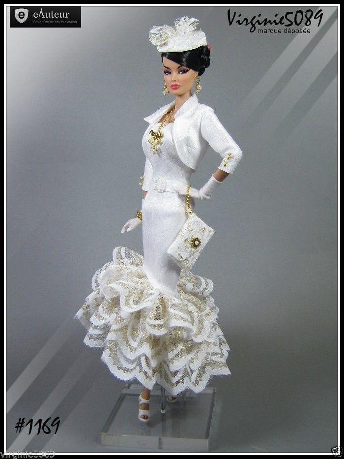 Tenue Outfit Accessoires Pour Barbie Silkstone Vintage Fashion Royalty 1169 | eBay                                                                                                                                                      Plus