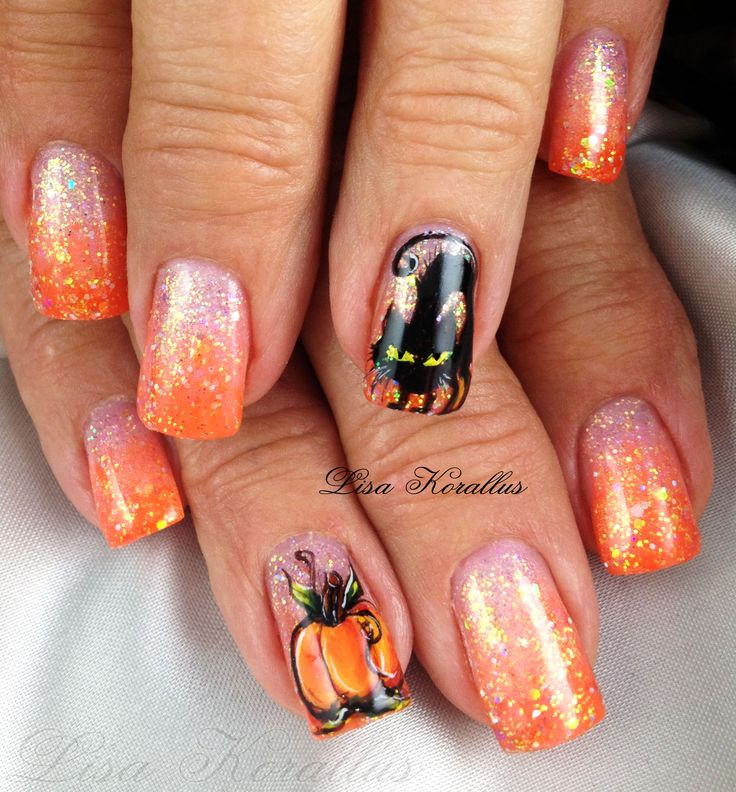 Fun Fall Nail Designs: 14 Best Fall Nails Images On Pinterest