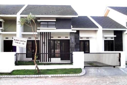desain-rumah-minimalis-type-60-terbaru | Fence | Pinterest ...