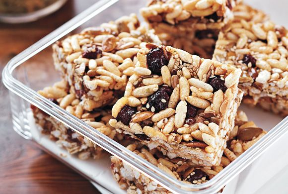 Multiseed Cranberry Energy Bars