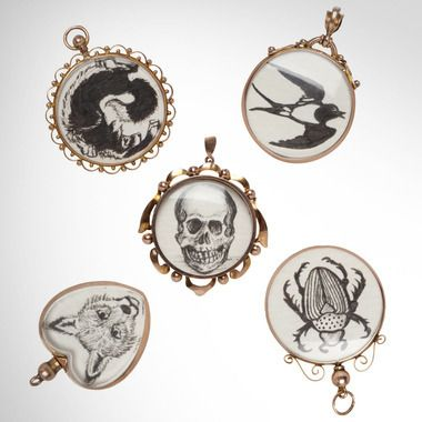 Bespoke Victorian lockets at Liberty Jewellery Week