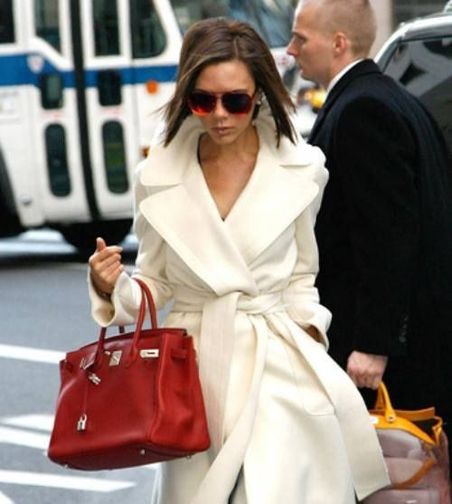 I want a red purse!! Love the jacket!