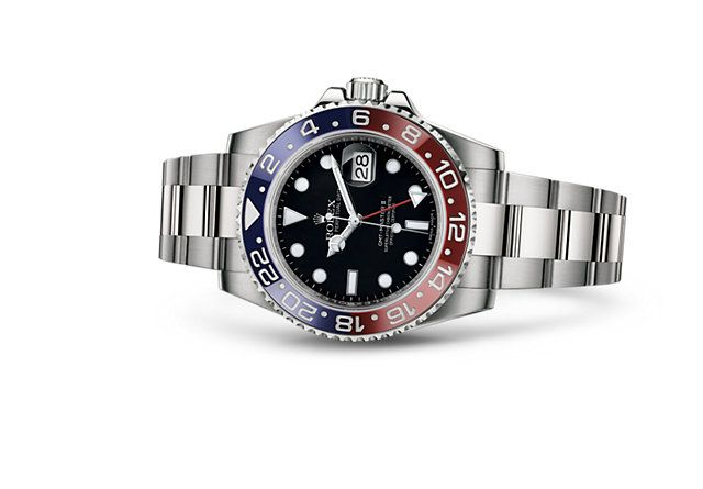 GMT-Master II in 18kt white gold...price upon request