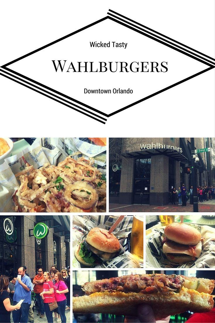 WahlburgersServes Wicked Tasty Burgers in Downtown Orlando #Wahlburgers #Burgers #Burger #Orlando #VisitOrlando