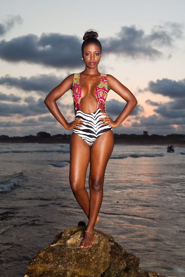 Aya Morrison RESORTWEAR 2012 ~ FashionistaGH - The premier source for Ghanaian Fashion and Lifestyle #African #Print #Swimwear