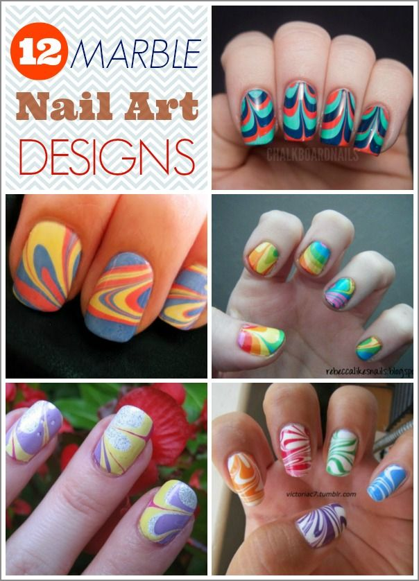 12 Marble Nail Art Designs Worth Copying!
