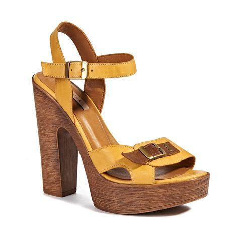 Kadın Sandalet Bej/Sarı - DESA