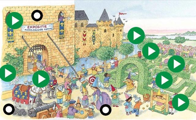 Lied: ridder Martijn en ridder Coen, Koekeloere uitzendin... by gertrude