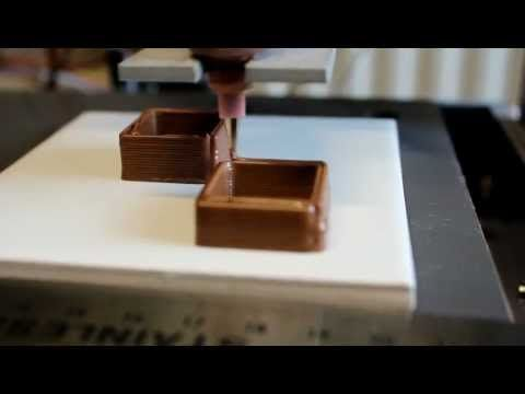 Chocolate 3-D Printer.  Now that's what I'm talkin' about!  Hefty pricetag!!!