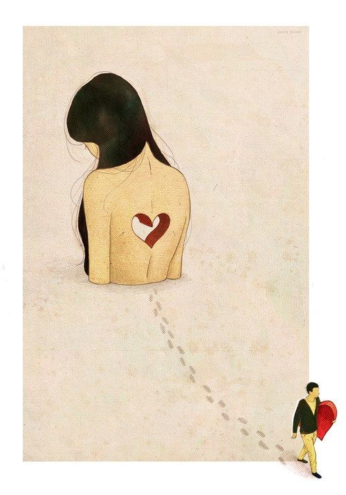 pleasingtotheeyeandtotheear: Illustration by Julia Yellow The Perishers - My Heart