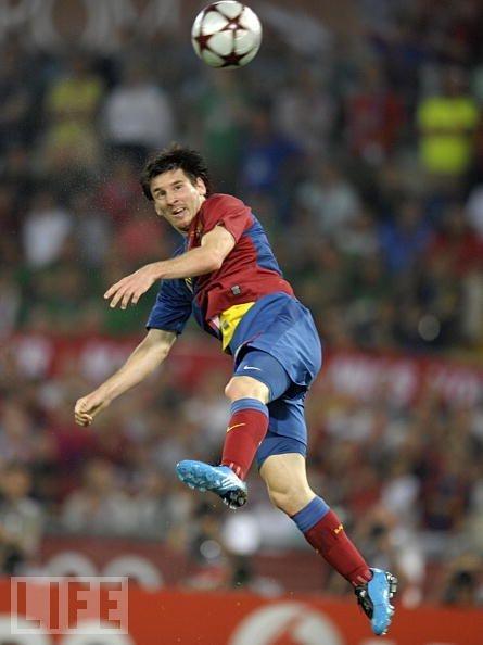 Head It... Messi.