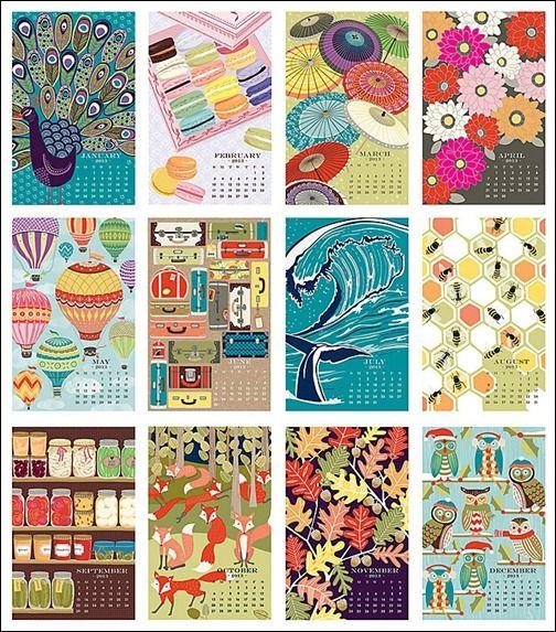 paper-souce-wall-art-calendar