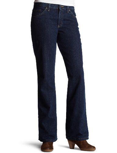 Women's Flannel lined Jean, Stonewashed Vintage Denim,