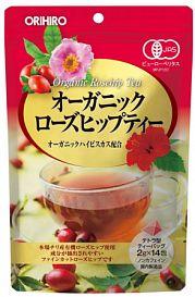 Orihiro organic rose hip tea лечебный чай из цветков гибискуса 14 пакетов купить по низкой цене в интернет магазине