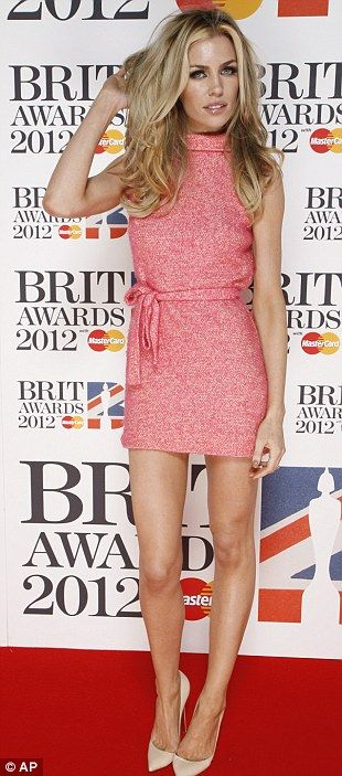 Abbey Clancy at Brit Awards