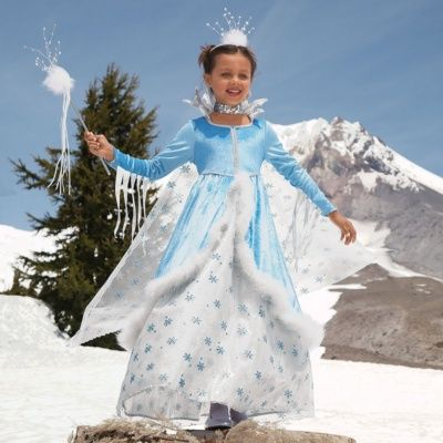 Ice Princess costume for girls. | Halloween Costume Ideas ...