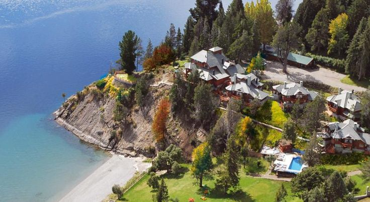 Charming Luxury Lodge & Private Spa San Carlos de Bariloche Charming Luxury Lodge & Private Spa offers exclusive bungalows overlooking Nahuel Huapi Lake, only 12 km from Catedral Ski Center. The property offers plush rooms with private hot tubs. Spa facilities include an outdoor heated pool.