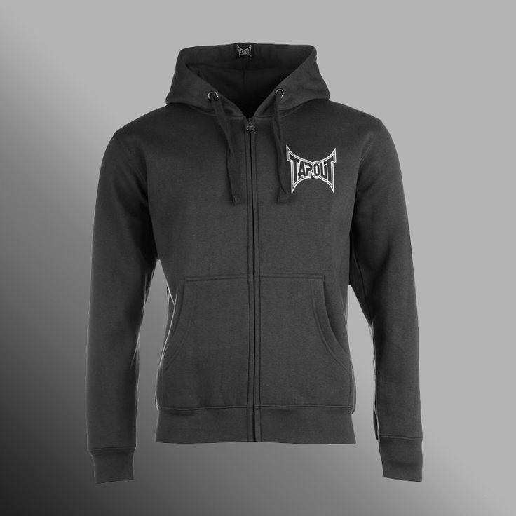 Mikina TAPOUT Simply Believe dark grey