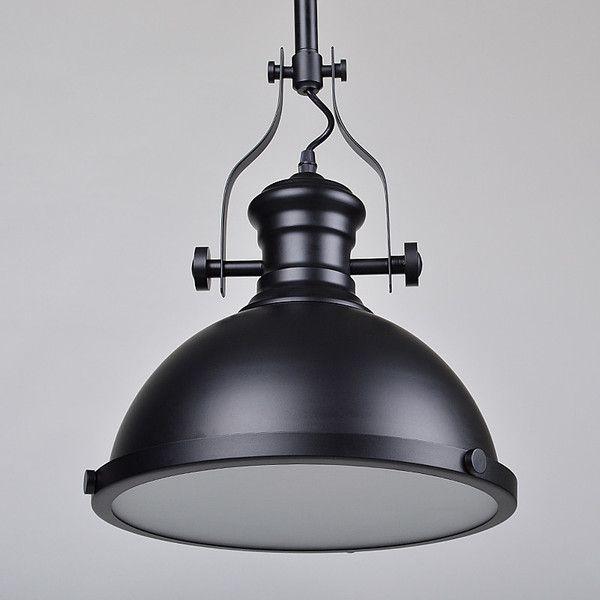 Huntington Vintage Nautical Industrial Pendant Light