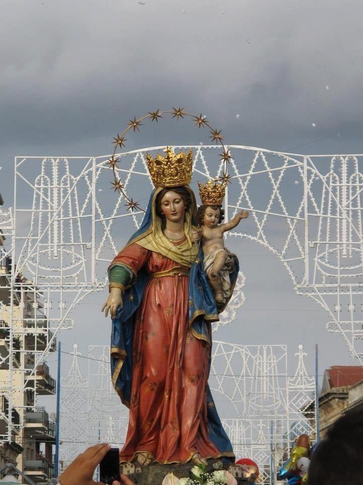 Festa di Portosalvo, 8 Settembre. Siderno, (RC) Italy