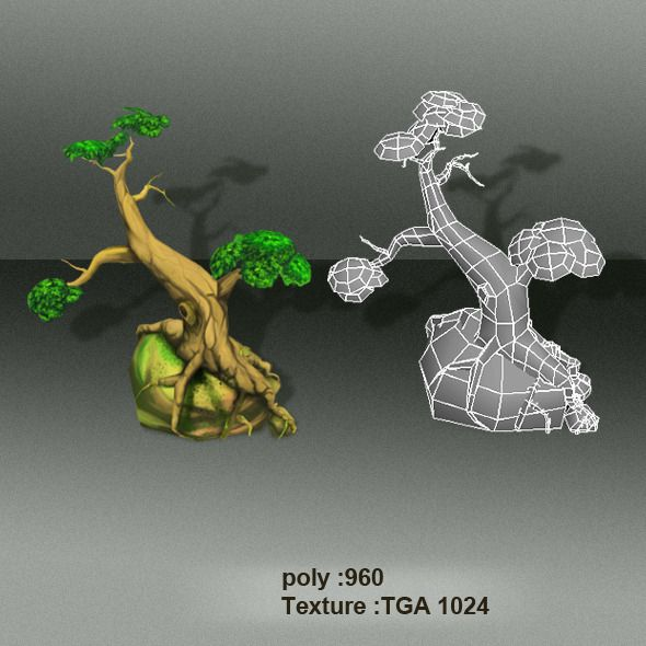 3D Model - Trees Low Poly 4403764 by playdesign @ 3DOcean