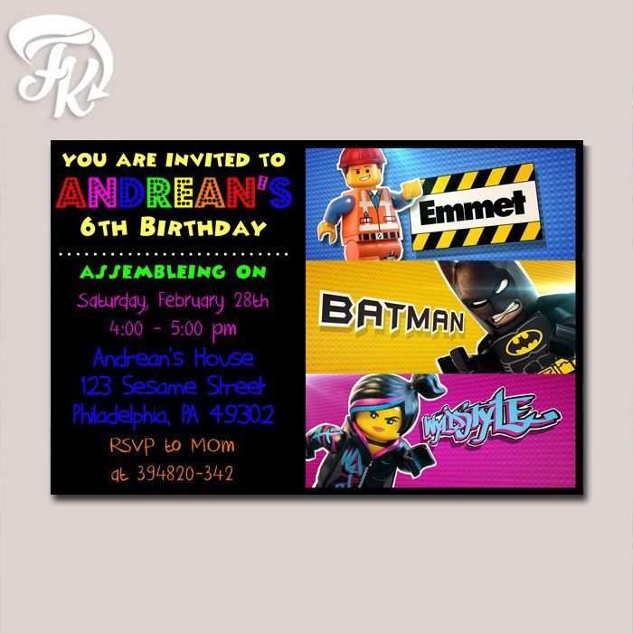 549 best birthday invitation card images on pinterest | digital, Party invitations