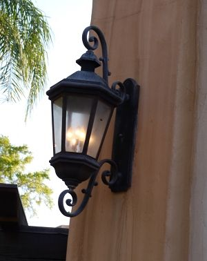 35 best images about spanish style architecture on for Colonial style outdoor light fixtures