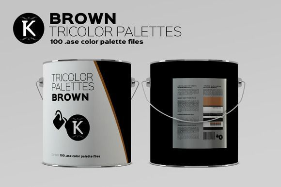 Nice Brown Tricolor Palettes