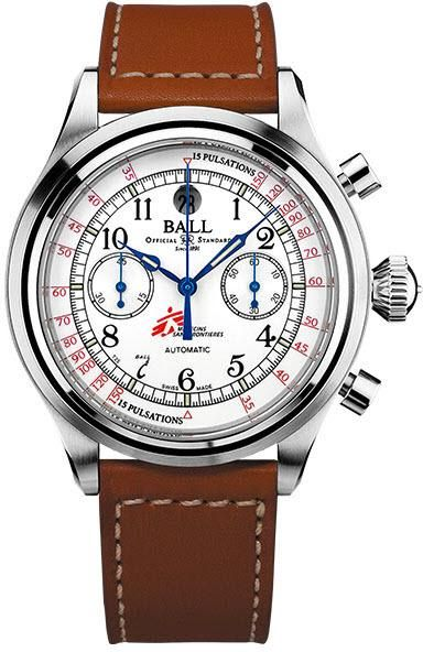 Ball Watch Company Trainmaster Pulsemeter Chronograph MSF #add-content #bezel-fixed #bracelet-strap-leather #brand-ball-watch-company #case-depth-14-8mm #case-material-steel #case-width-43mm #chronograph-yes #date-yes #delivery-timescale-call-us #dial-colour-white #discount-code-allow #gender-mens #limited-edition-yes #luxury #movement-automatic #new-product-yes #official-stockist-for-ball-watch-company-watches #packaging-ball-watch-company-watch-packaging #style-dress #subcat-trainmaster