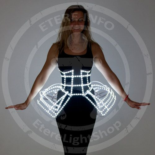 Led Corset 750+ 3D-form series. Beautiful and stylish accessory. Consists of more than 750 LEDs.