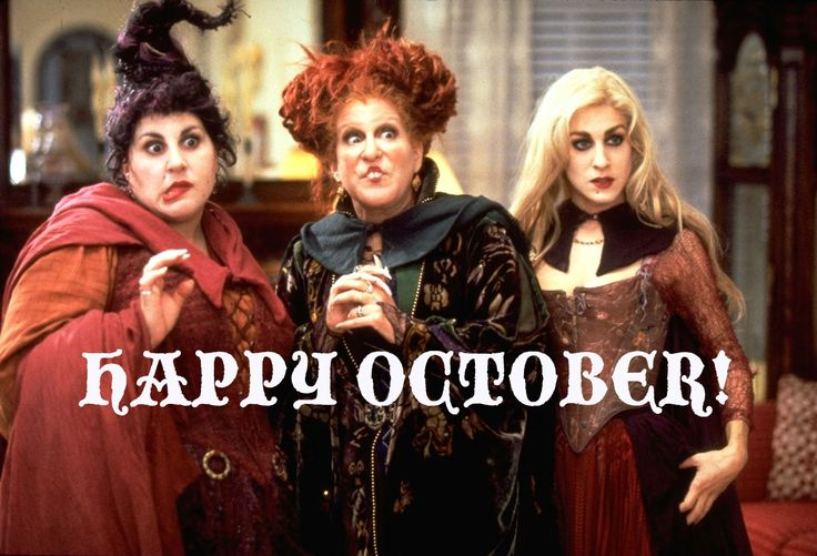 It's all a bunch of Hocus Pocus this month.