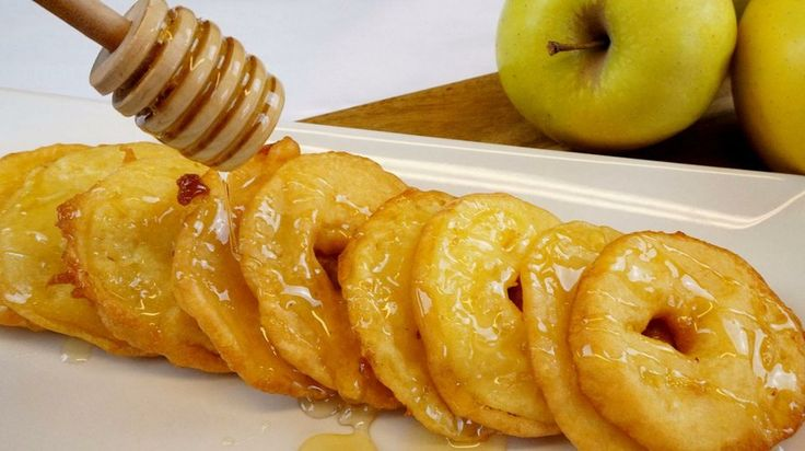 Buñuelos de manzana. ¡Un postre fácil, rápido y delicioso! | Cocina