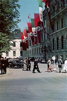 27.9.1937 Wilhelmplatz Berlin-Staatsbesuch Mussolinis