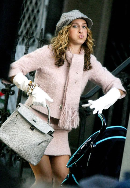 SJP Sarah Jessica Parker as Carrie Bradshaw (This is SO me!)