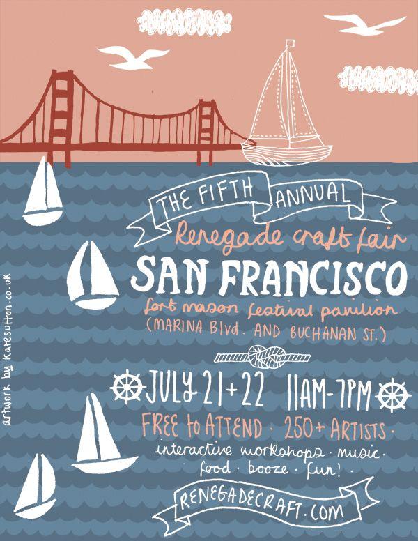 San Francisco E-Flyer by the wonderful Kate Sutton!