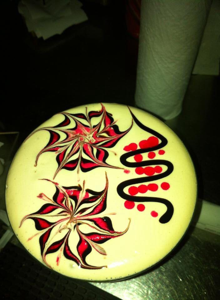 Latte art flower 2