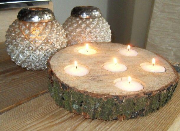 25 beste idee n over houten kerst knutselen op pinterest for Boomschijven decoratie