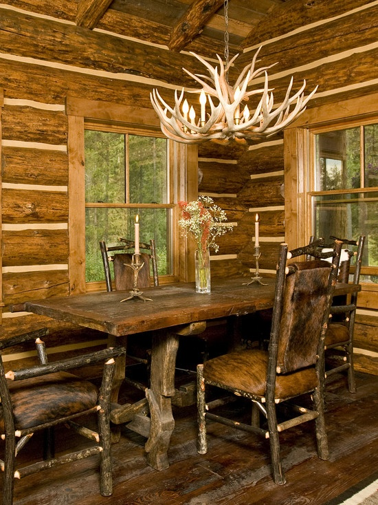 Antlers design pictures remodel decor and ideas page Log cabin chandelier