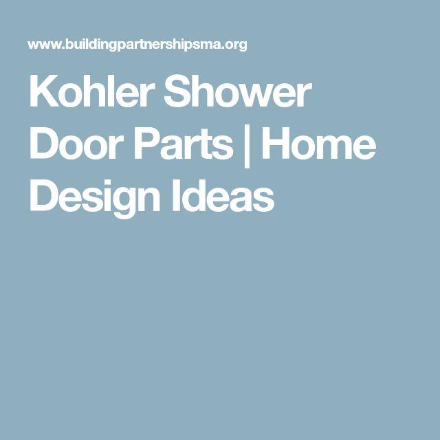 Kohler Shower Door Parts | Home Design Ideas