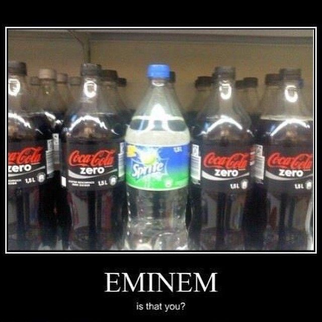 Eminem is that you? - http://absurdpics.com/funny/eminem-is-that-you/