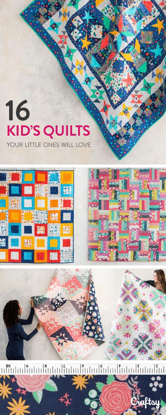Explore Kids Quilt Projects Fabrics Videos And More Created By