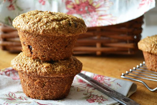 Cherry Almond Bran Muffins | Cherries, Almonds and The o'jays