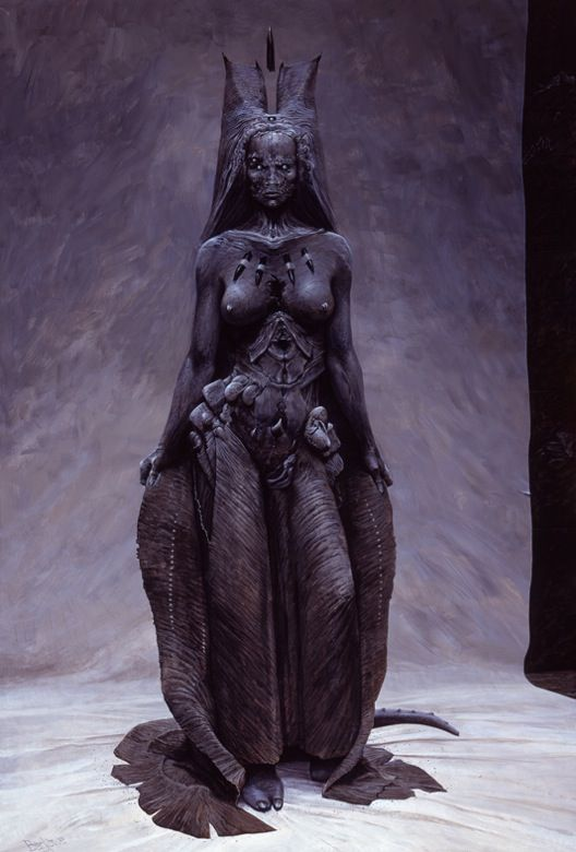 Succubus god 39 s demon by wayne barlowe lovecraft and for Maitresse lilith
