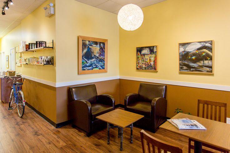 A small corner of Formosa Tea Cafe. Local tea house in Kelowna, BC.