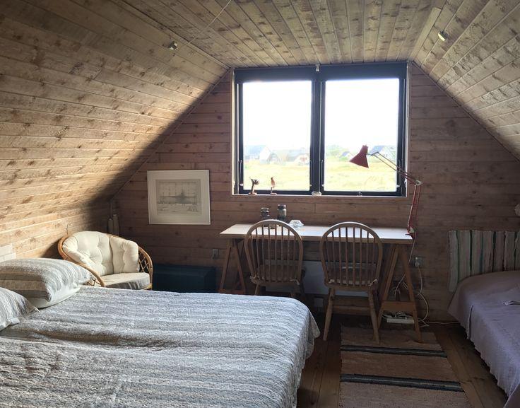 Soveværelse til 4 på 1. salen på Heden.